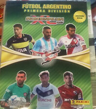 BINDER PANINI ADRENALYN FUTBOL ARGENTINO 2017 COMPLETE COLLECTION