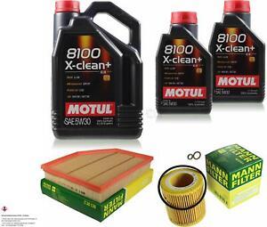 MOTUL 7 L 5W-30 MOTOR-ÖL+MANN-FILTER für BMW 6er E63 630i Cabriolet E64 E60 525i