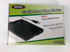 BT144 Bytecc USB 2.0 Data External Floppy Disk Drive Win 98/2000/ME/XP Vista