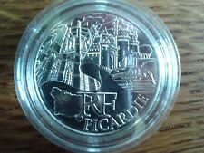france 10 euros argent 2011 picardie