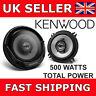 """Kenwood KFC-E1365 5.25"""" Inch 13CM 500W 2 Way Car Van Door Coaxial Speakers NEW"""