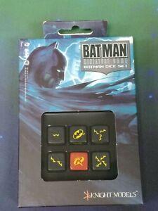 Batman Miniature Game - Batman Dice Set