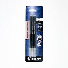 Pilot Frixion Ball Erasable Gel Ink Refills 10mm Bold Point Black Ink 3 Count