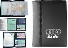 Pochette Etui Porte carte grise * AUDI * Permis conduire - Assurance