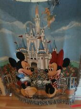 Disney Mickey & Minnie Mouse Throw Blanket Tapestry