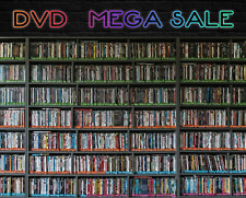 DVD Lot MEGA Discount SALE / Kids & Adults Movies Pick Your Own EVERYTHING $1.80