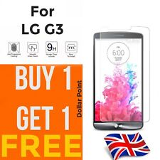 100% Genuine Tempered Glass screen protector for LG G3