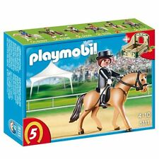 Playmobil 5111 German Sport Horse with Dressage Rider and Stable