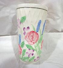 vintage Ben Rickert porcelain floral vase