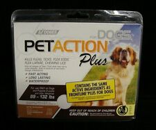 PetAction Plus Dog Insect Treatment 89-132 lbs 3 Doses in Pack