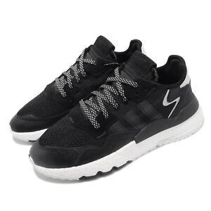 adidas Originals Nite Jogger BOOST Black White Carbon Men Running Shoes EE6254