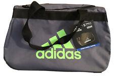NWT Adidas  Diablo Gray Duffel Bag Black Small
