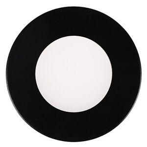 6Pcs 3'' 12V LED RV Slim Puck Light LED Down Light Magnet Metal Trim Warm White