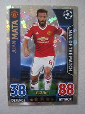 Champions League 2015/16 MOTM card Juan Mata of Manchester United