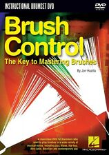 Brush Control The Key to Mastering Brushes Instructional Drum Dvd New 000320706