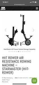 StairMaster HIIT Rower Rowing Resistance Machine Exercise Home Cardio Gym