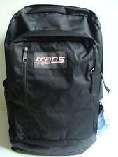 NWT JANSPORT Boys Trans MegaHertz Backpack Black Laptop Book Bag Digital Sleeve