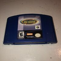 Nintendo 64 Game Cartridge TONY HAWK PRO SKATER! Tested Super Fun N64 Skateboard