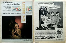 Chen You America's Most Famous Nail Varnish/Persil Washing Powder French Ad 1951