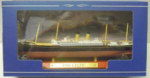 """RMS """" Celtic """", White Star Line, Atlas, 1:1250, Finshed Model, New"""