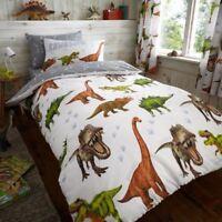 Rawrsome Dinosaure Housse Couette Simple & Set Taie D'Oreiller Literie Enfants