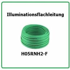 Illuminationsflacheitung H05RNH2-F 2x1,5  50m Illu Kabel, Illuminations Leitung