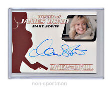 JAMES BOND ARCHIVES 2014 AUTO WA44 MARY STAVIN