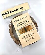 Wild Woods Plaited Basket Craft Kit: New