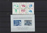 Germany DDR mounted mint Stamps Ref 14790