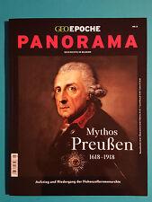 GEO EPOCH NR.8 PANORAMA HISTOIRE EN IMAGES 1618-1918 non lues 1a