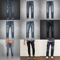 NWT Abercrombie & Fitch and Hollister MEN'S Jeans 30 32 33 34 36 New