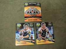 2007 RUGBY LEAGUE CLASSIC TAZO  TEAM SET - WEST TIGERS