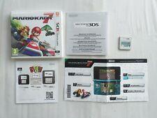 MARIO KART 7 NINTENDO 3DS GAME GOOD CONDITION
