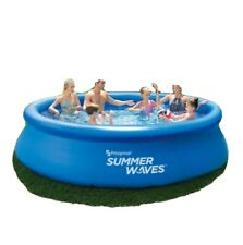 HOT ITEM! NEW SUMMER WAVES 12FT X 30 INCH QUICK SET POOL W PUMP SHIPS FAST