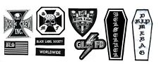 HEAVY METAL BAND BLACK LABEL SOCIETY BLS 9-PATCH SET w/RIP for CHEST of BLS VEST