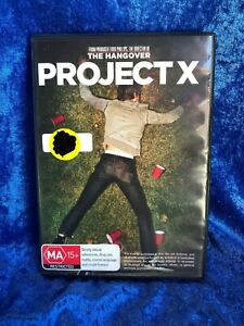 Project X Region 4 DVD Free Postage