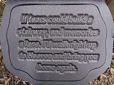 Gostatue If tears plastic mold memorial concrete plaster mold mould