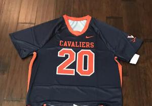 Nike Men's Virginia Cavaliers Lacrosse Jersey Sz L NEW CT3114-419