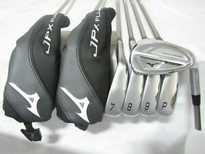 Used RH Mizuno JPX 921 Iron Set 5-P,G Senior Flex Graphite Shafts