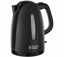 Russell Hobbs 21271 Textures Fast Boil Cordless Kettle ( Black  )