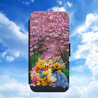 DISNEY/WINNIE THE POOH/SAKURA/FLIP WALLET PHONE CASE FOR IPHONE/SAMSUNG/HUAWEI