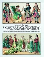 Racinet's Full-Color Pictorial History of Western Costume: With 92 Plates
