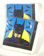 Vintage 90s Batman Forever Birthday Party Napkins by Unique - 2 Packs