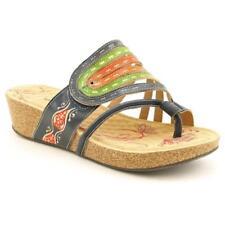 Sandalias y chanclas de mujer Spring Step color principal azul de piel