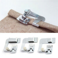 Domestic Sewing Machine Foot Presser Rolled Hem Feet Set for Brother Singer  Pf