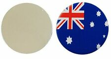 AUSTRALIA OZ FLAG  METAL GOLF BALL MARKER DISC 25MM DIAMETER