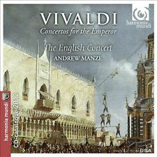 "Vivaldi ""Concertos for Emperor"" Andrew Manze / English Concert ~ Sealed New"