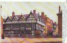 Worcestershire Postcard - Cornmarket in 1799 - King Charles's House   2951