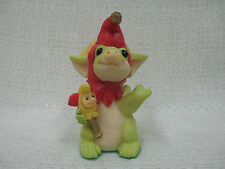 Whimsical World Of Pocket Dragons Jingles Real Musgrave Nib Christmas