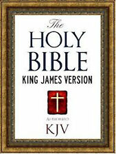 The Holy Bible KJV Audio DVD PDF MSword Notepad With Over 700 Images Huge DVD